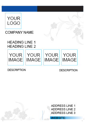 White Design Flyer