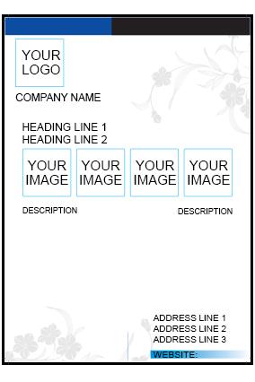 White Design Flyer