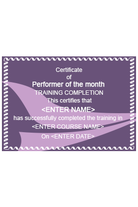Astounding Education Industry Certificate