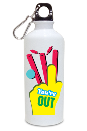 Clean Bowled 600ml White Sipper