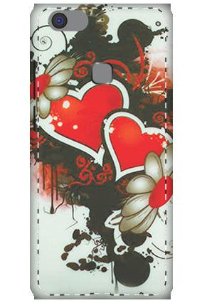 3D - Vivo V7 Plus Lovely Mobile Cover