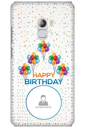 3D - Lenovo K4 Note Happy Birthday Mobile Cover