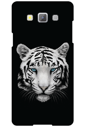 Customize Samsung Galaxy A5 2015 White Tiger Mobile Cover