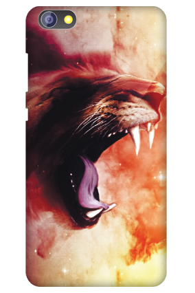 Customised Huawei Honor 4x Scary Lion Mobile Cover