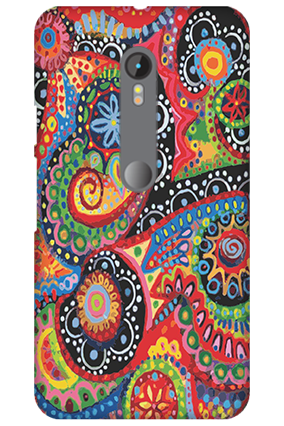 3D Motorola Moto G3 Colorful Mobile Cover