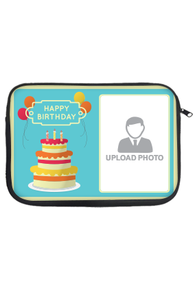 Birthday Cake Laptop Sleeve