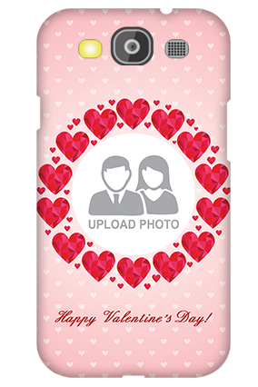 Personalized Samsung Galaxy S3 Neo Pink Hearts Valentine's Day Mobile Cover