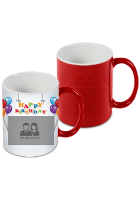Happy Birthday Red Magic Mug