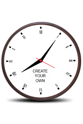 Create Your Own Wooden Wall Clock