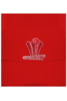Clean Bowled Red Cap