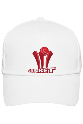 Clean Bowled White Cap