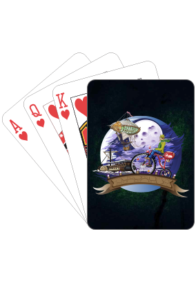 Worldly Playing Card