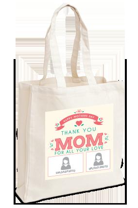 Thank You Mom Tote Bag