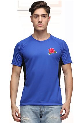 Effit Rose Royal Black T-Shirt