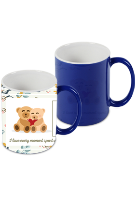 Amazing Best Friend Blue Magic Mug