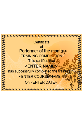 personalized certificates online in india with custom printing