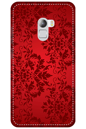 3D - Lenovo K4 Note Red Color Mobile Cover