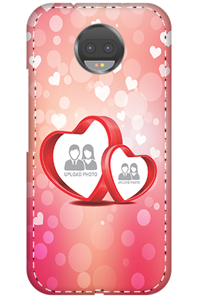 3D - Motorola Moto G5s Plus Floral Hearts Anniversary Mobile Cover
