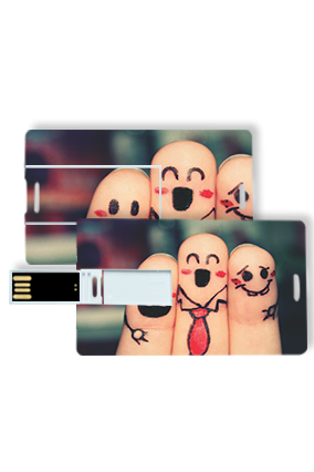 Friends Forever Credit Card Pen Drive
