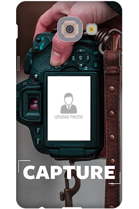 3D-Samsung Galaxy J7 Max I Love Photography Personalized Mobile Cover