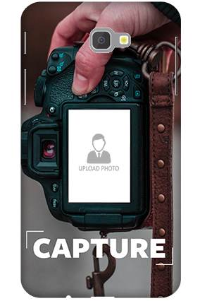 3D-Samsung Galaxy J7 Prime I Love Photography Personalized Mobile Cover