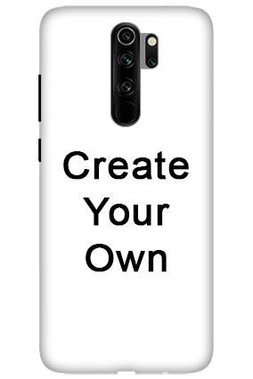 3D-Create Your Own Redmi Note 8 Pro Mobile Cover