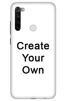 3D-Create Your Own Redmi Note 8 Mobile Cover