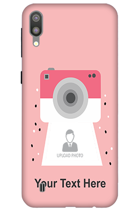 3D-Samsung Galaxy M10 Camera with Custom Photo Mobile Back Cover