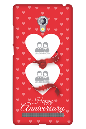 Asus Zenfone 6 Red Heart Anniversary Mobile Cover
