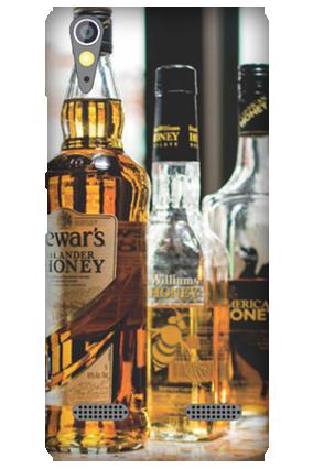 Customized Lenovo A6000 Whiskey Mobile Cover