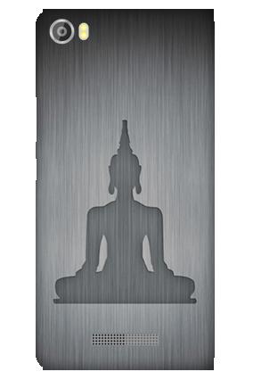 Amazing Silicon - Lava Iris X8 Meditation Mobile Cover