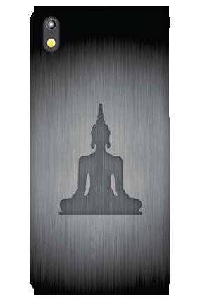 Amazing HTC Desire 816 Silver Buddha Cover