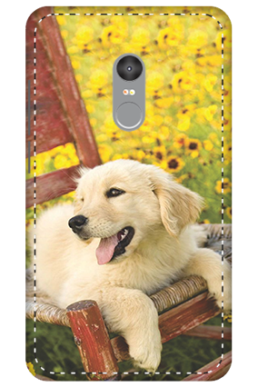 3D - Xiaomi Redmi Note 4 Cute Dog Mobile Cover
