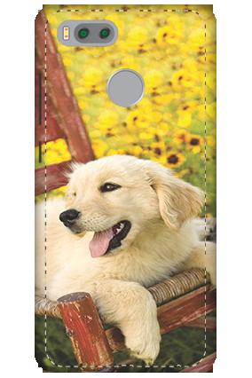 3D-Xiaomi Mi 5x Cute Dog Mobile Cover