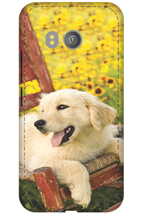 3D - HTC U11 Cute Dog Mobile Cover