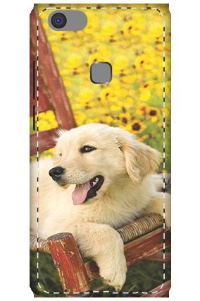 3D - Vivo V7 Plus Cute Dog Mobile Cover