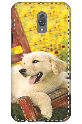 3D - Infinix Hot 4 Cute Dog Mobile Cover