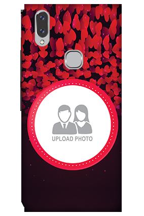 3D - Vivo V9 Gleaming Hearts Mobile Cover