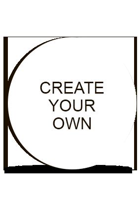 Design Your Own Round MDF Fridge Magnet
