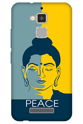 Amazing Asus Zenfone 3 Max Peace Mobile Cover
