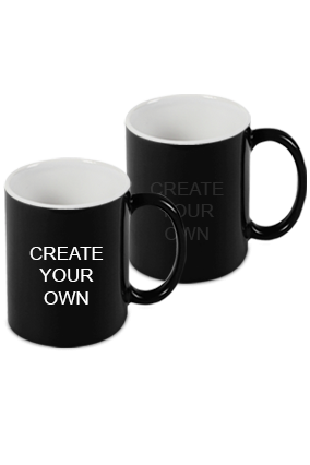 Design Your Own Black Magic Mug