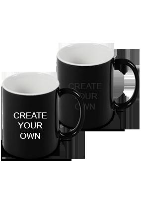 Design Your Own Black Magic Mug