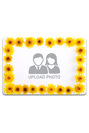 Personalized Floral Table Mat
