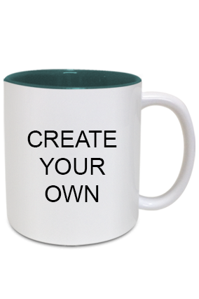 Create Your Own Inside Green Mug
