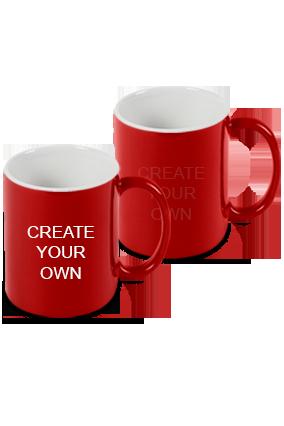 Design Your Own Red Magic Mug