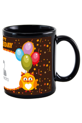 Clown Black Patch Mug