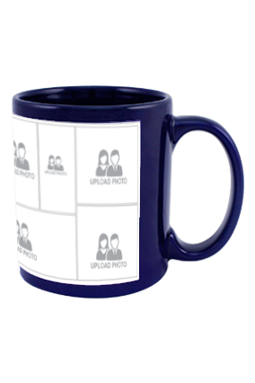 Awesome Blue Patch Mug