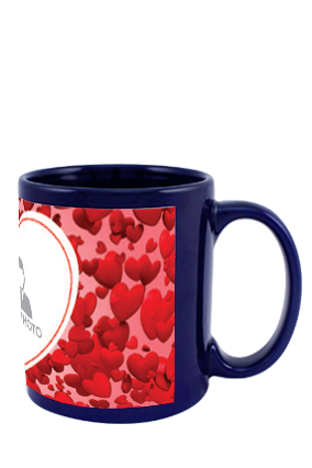 Great Blue Patch Mug