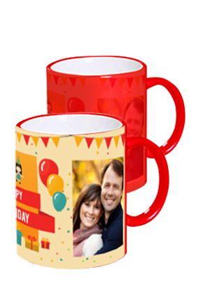 Birthday Wish Red Magic Mug