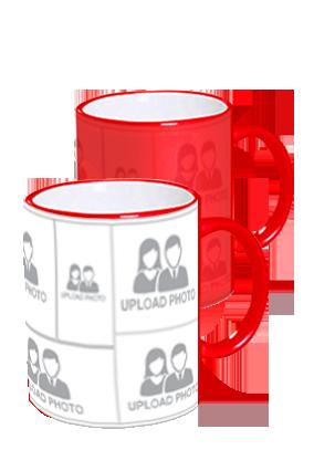 Customized Amazing Red Magic Mug